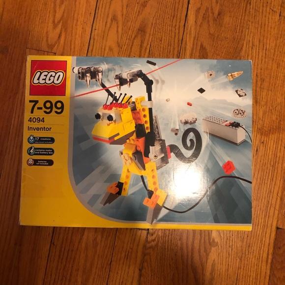 LEGO Set 4094 Inventors Motor Movers